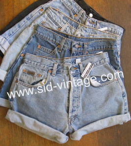Vintage Women's Denim Shorts