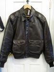Military Leather A-2 Bomber by Schott Bros. - In store