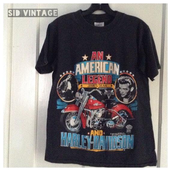 Harley Davidson James Dean