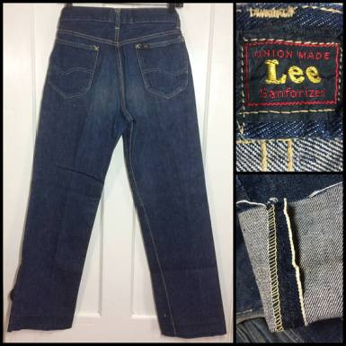 1950s Lee 101-z selvedge
