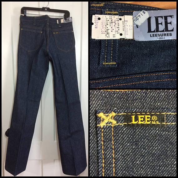 deadstock Lee Leesures bell bottoms jeans nos nwt
